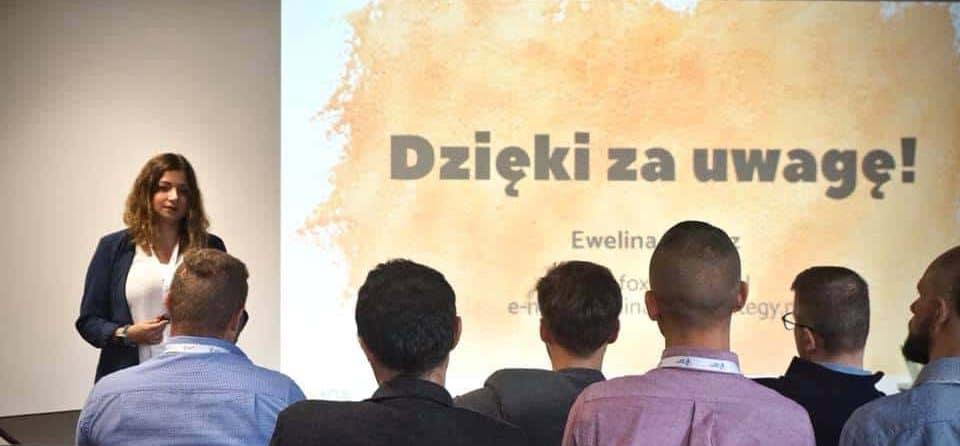 Ewelina Podrez-Siama - wystąpienie podczas Founders Mind